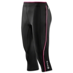 Skins A200 Women's 3/4 Tight (Black/Pink)