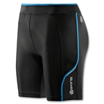 Skins A200 Women's Short (Blk/Royal)