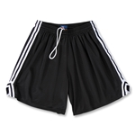 Fit2Win Women's Tricot Mesh Lacrosse Shorts (Black)