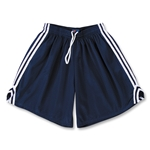 Fit2Win Women's Tricot Mesh Lacrosse Shorts (Navy)