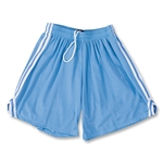 Fit2Win Women's Tricot Mesh Lacrosse Shorts (Sky)