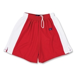 Fit 2 Win Women's Waffle Lacrosse Shorts (Red)