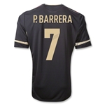 Mexico 11/12 P. BARRERA Away Soccer Jersey