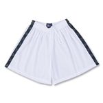Spartan Women's Lacrosse Sticks Ribbon Shorts (White)