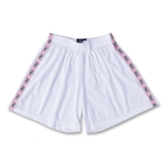 Spartan Women's Alligators Ribbon Shorts (White)