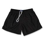 FIT2WIN Women's Crazy Tricot Mesh Lacrosse Shorts (Black)