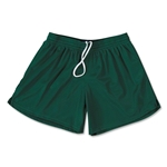 FIT2WIN Women's Crazy Tricot Mesh Lacrosse Shorts (Dark Green)