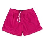 FIT2WIN Women's Crazy Tricot Mesh Lacrosse Shorts (Fu)