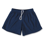 FIT2WIN Women's Crazy Tricot Mesh Lacrosse Shorts (Navy)