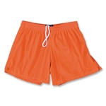 FIT2WIN Women's Crazy Tricot Mesh Lacrosse Shorts (Orange)