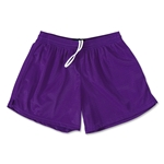 FIT2WIN Women's Crazy Tricot Mesh Lacrosse Shorts (Purple)
