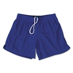FIT2WIN Women's Crazy Tricot Mesh Lacrosse Shorts (Royal)