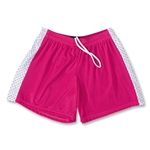 Fit2Win Women's Polka Dot Lacrosse Shorts (Fu)