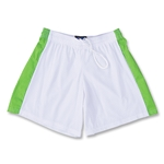 Fit2Win Women's Polka Dot Lacrosse Shorts (White)
