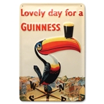 Toucan Lovely Day Metal Sign