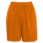Under Armour Women's Chaos Short (Org/Wht)