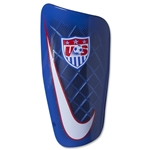 USA Mercurial Lite Shinguard (Red/White/Blue)