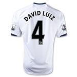 Chelsea 12/13 DAVID LUIZ Away Soccer Jersey
