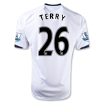 Chelsea 12/13 TERRY Away Soccer Jersey