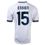 Real Madrid 12/13 ESSIEN Home Soccer Jersey