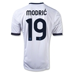 Real Madrid 12/13 MODRIC Home Soccer Jersey