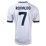 Real Madrid 12/13 RONALDO Home Soccer Jersey