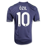 Real Madrid 12/13 OZIL Away Soccer Jersey