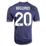 Real Madrid 12/13 HIGUAIN Away Soccer Jersey