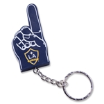 LA Galaxy Foam Finger Key Chain