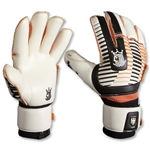 Brine King 6X Frederic Goalkeeper Gloves (White/Black/Orange)