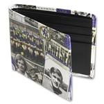 Chelsea Retro Print Leather Wallet