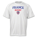 adidas USA Sevens France Climalite T-Shirt (White)