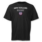 adidas USA Sevens New Zealand Climalite T-Shirt (Black)