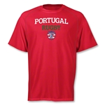 adidas USA Sevens Portugal Climalite T-Shirt (Red)