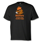 Oregon State Women's Rugby Logo T-Shirt (Black)