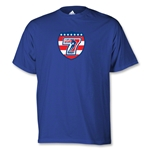 adidas USA Sevens Vegas Logo T-Shirt (Royal)