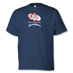 adidas Las Vegs Invitational Logo T-Shirt (Navy)