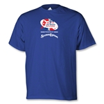 adidas Las Vegs Invitational Logo T-Shirt (Royal)
