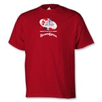 adidas Las Vegs Invitational Logo T-Shirt (Red)