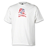 adidas Las Vegs Invitational Logo T-Shirt (White)