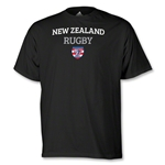 adidas USA Sevens New Zealand Rugby T-Shirt (Black)