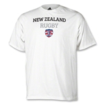 adidas USA Sevens New Zealand Rugby T-Shirt (White)