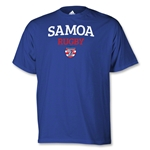 adidas USA Sevens Samoa Rugby T-Shirt (Royal)