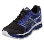 Asics Gel Cirrus 33 Training Shoes (Black/Onyx/Electric Blue)