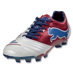 PUMA PowerCat 1.12 SL FG (White/Ribbon Red/Limoges)