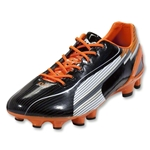 PUMA evoSpeed 1 FG (Black/White/Team Orange)