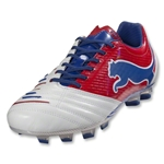 PUMA PowerCat 1.12 FG (White/Ribbon Red/Limoges)