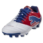 PUMA PowerCat 3.12 FG Junior (White/Ribbon Red/Limoges)