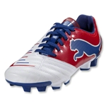 PUMA PowerCat 4.12 FG Junior (White/Ribbon Red/Limoges)