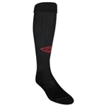 Umbro Team Socks (Blk/Red)